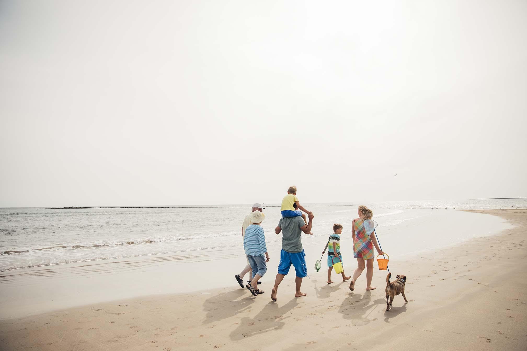 ¿Qué está prohibido en la playa?